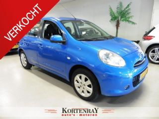 Nissan Micra 1.2 DIG-S Connect Edition navi/airco/pdc/multmedia/bluetooth/nieuwstaat