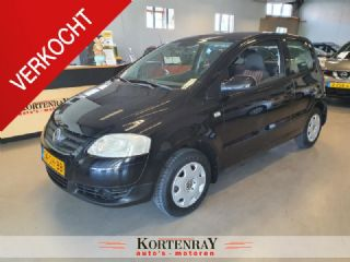 Volkswagen Fox 1.4 Trendline Black beauty met een Top kilometerstand !!!
