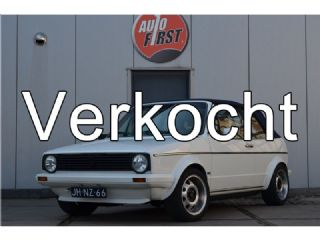 VW Golf Cabriolet 1.8 GL mooie harde auto