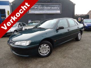 Peugeot 406 1.6 SL SUBLIME / ELEK RAMEN / C.VERGRENDELING / RADIO-CD / TREKHAAK / IN NETTE STAAT / APK 15-01-2020
