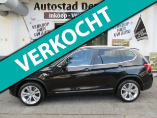 BMW X3 2.0d xDrive High Executive Leer Panoramadak