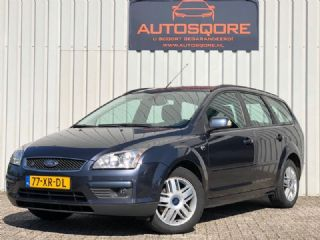 Ford Focus Wagon 1.8-16V Ghia Flexifuel