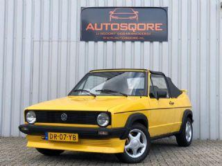 Volkswagen Golf 1.1 N BIEBER CABRIO NAP