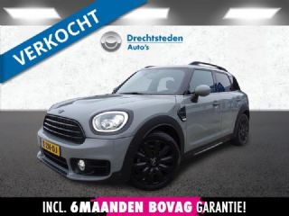 "Mini Countryman 1.5 Leer! Navi! Carplay! Camera! Keyless! Black Optics! Moonwalk Grey! 18""Inch!"