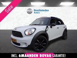"Mini Countryman 1.6 Cooper Aut.! Panodak! Black Optics! 44.926KM! New 17""Inch! 5-Pers! 1ste Eigenaar!"
