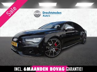Audi RS7 4.0 TFSI 720PK! Black Edition! 360ºCam! MatrixLED! Head-Up! Schuifdak! Memory! Keyless! Klasse 5!