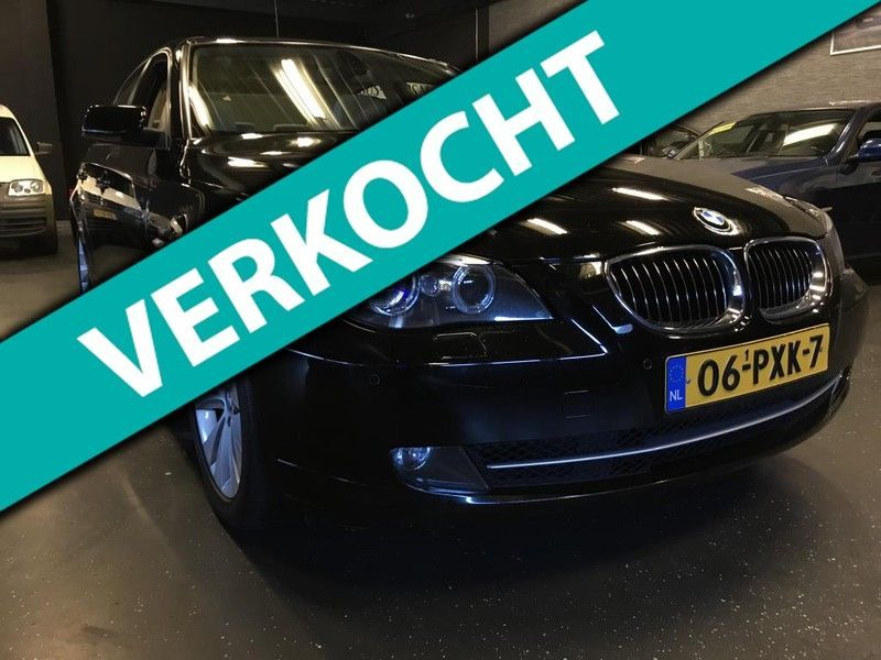BMW 5 Serie 3.0 525d 530d High Executive  BJ2008 Facelift Bom/Volle Zeer Nette