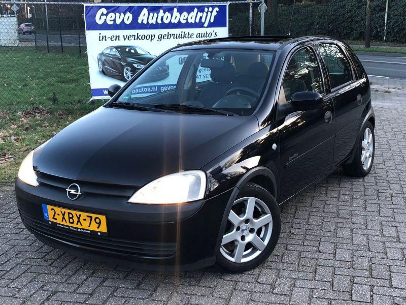 Opel Corsa 10 12v Elk Raamstuurbkrschuifdak
