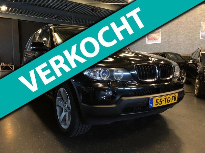 BMW X5 3.0d High Executive Panoramadak Bom Volle Opties Zeer Nette