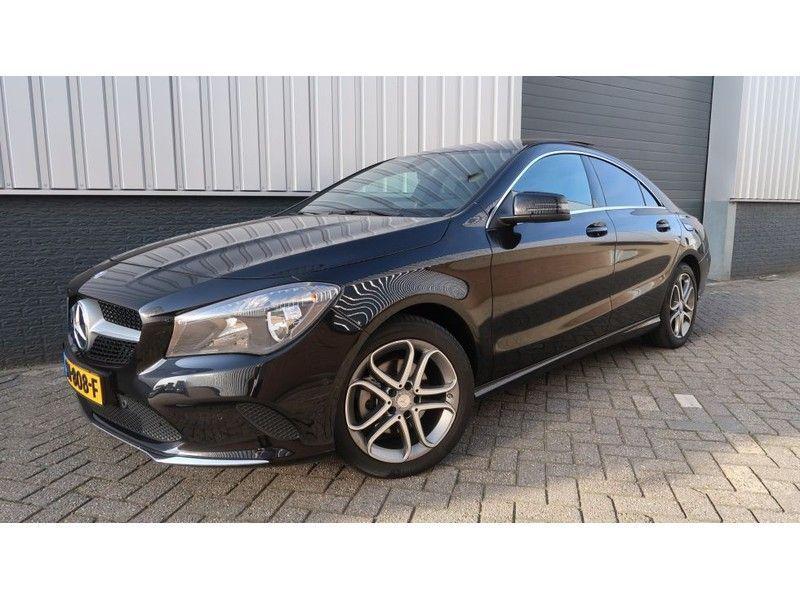 Mercedes Benz Cla Klasse 200 D Panoramadak Leer Navi Memory Camera