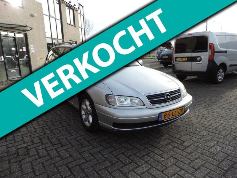 Opel Omega Wagon 2.2i-16V Onyx Edition Automaat, Full options