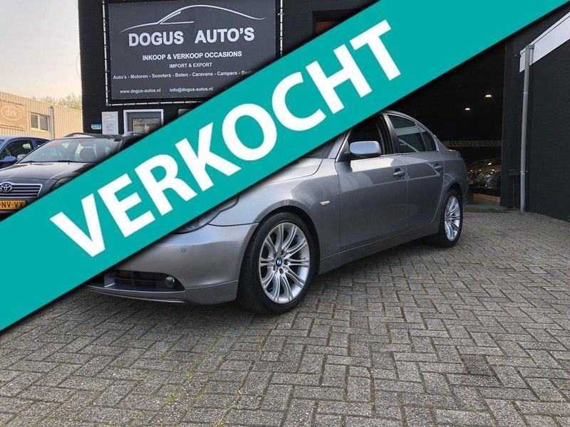 BMW 5 Serie 535d High Executive Navi / Leer / Bom Vol / Nap / Schuifdak /