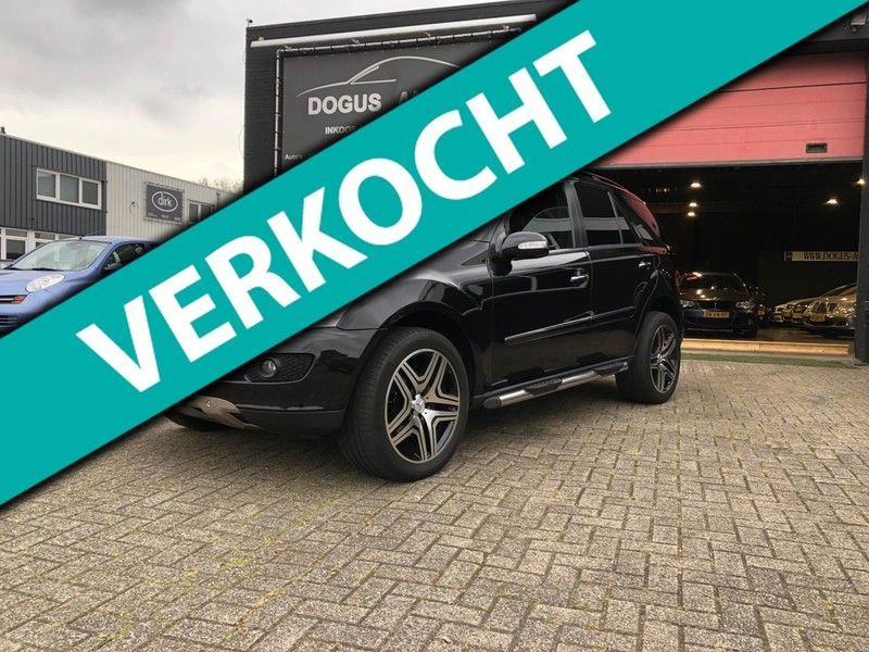 Mercedes-Benz M-Klasse 320 CDI ML 320 CD AMG Zeer nette Bom Volle Opties