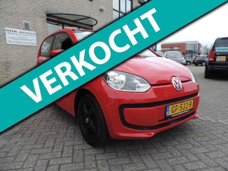 VW up 1.0 move up BlueMotion Airco, L.M.Velgen, NAVIGATIE...
