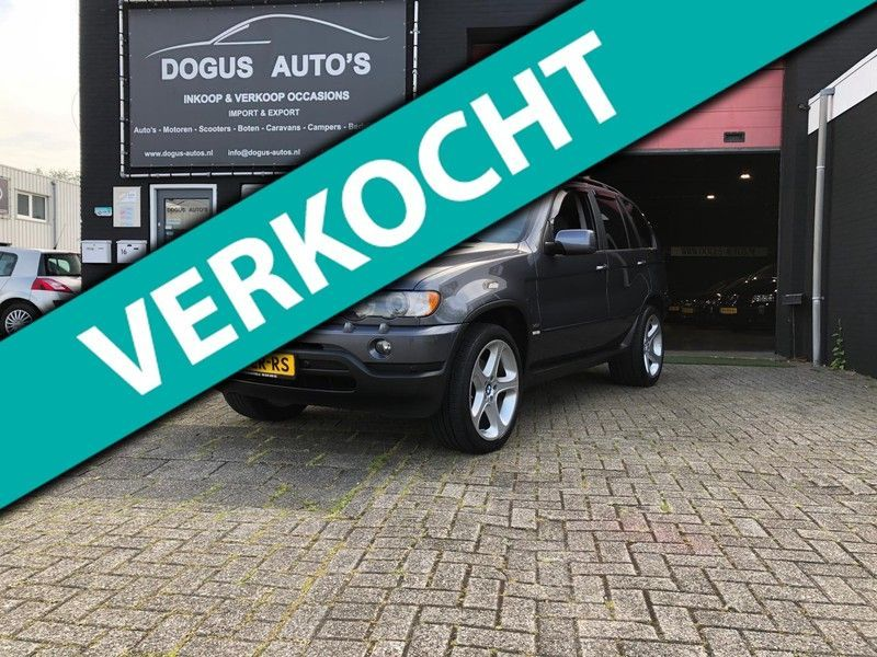 BMW X5 3.0i Executive 4x4/Leer/Navi/bom/volle/opties