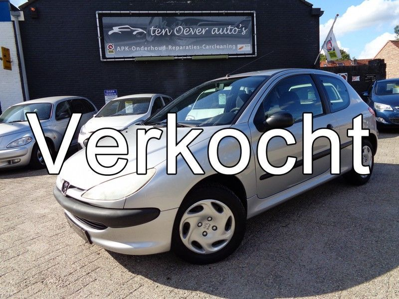 Peugeot 206 occasion - Ten Oever Auto's