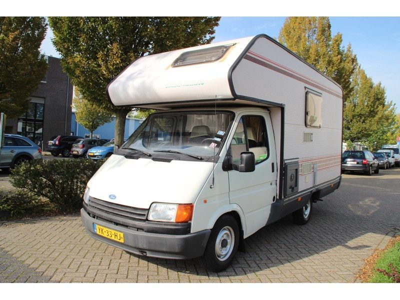 Ford TRANSIT 120 KAMPEERAUTO CAMPER 4 TOT 5 PERSOONS APK TOT 10-2020 occasion - Carshop Eindhoven B.V.