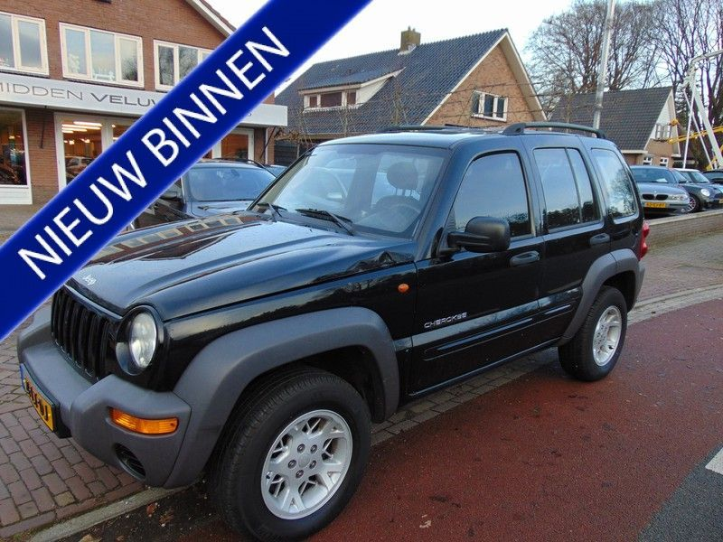 Jeep Cherokee occasion - Midden Veluwe Auto's