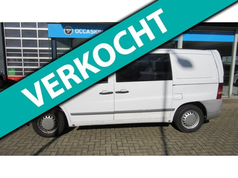Mercedes-Benz Vito occasion - Occasion Center Roosendaal