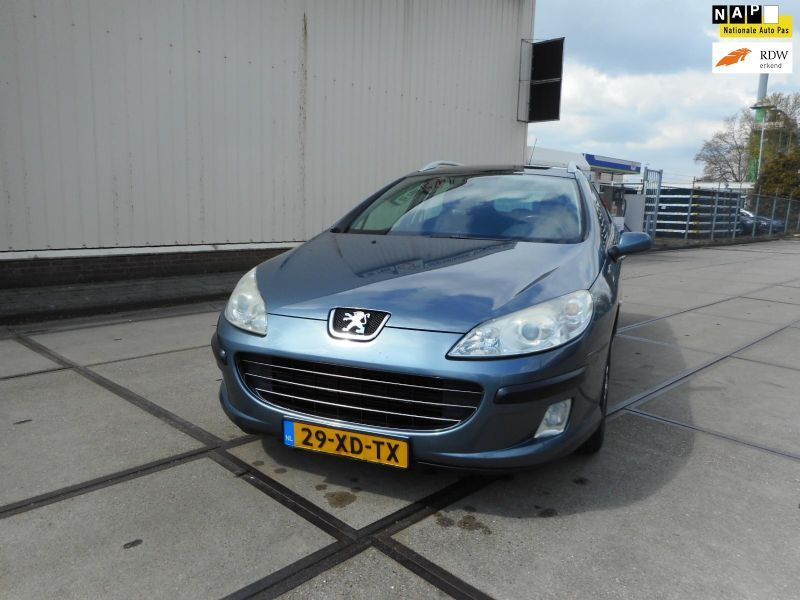 Peugeot 407 occasion - Autohandel O.N.S.